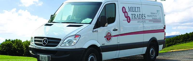 BML Brand Detailed Van