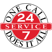 Twenty four seven service - one call does it all